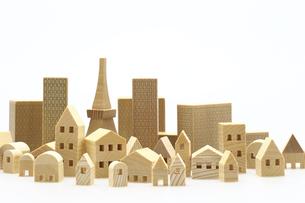 建造物のミニチュア模型の写真素材 [FYI04853916]
