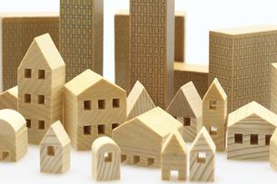 ビル 建物のミニチュア模型の写真素材 [FYI04853950]