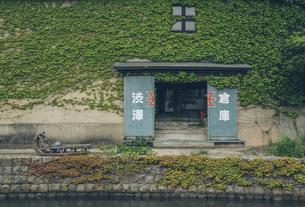 小樽の旧渋澤倉庫の写真素材 [FYI04854008]