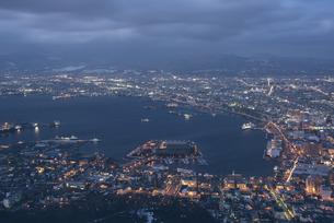 函館の夜景の写真素材 [FYI04854036]