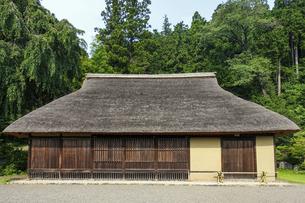 江戸時代には高麗神社の神職の住居だった高麗家住宅(国の重要文化財)の写真素材 [FYI04854756]