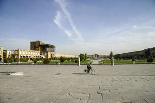 「世界の半分」イラン・エスファハーンの世界遺産イマーム広場の写真素材 [FYI04854927]