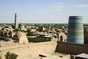 ウズベキスタンの世界遺産イチャン・カラの写真素材 [FYI04854936]