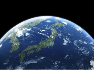 日本主体の地球のイラスト素材 [FYI04855068]