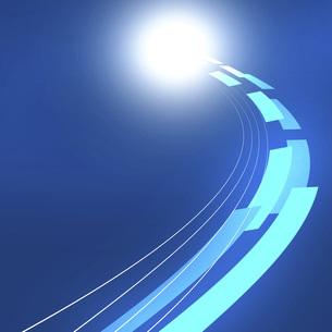 閃光 放射光 流れ星 すい星 注目 夜空 のイラスト素材 [FYI04855517]