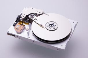 ハードディスクドライブの写真素材 [FYI04856633]