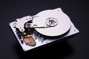 ハードディスクドライブの写真素材 [FYI04856634]