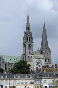 シャルトル大聖堂の写真素材 [FYI04856797]