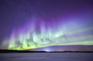 フィンランド ロバニエミのオーロラの写真素材 [FYI04857067]