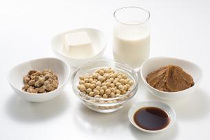 大豆の加工食品の写真素材 [FYI04857762]