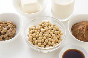 大豆の加工食品の写真素材 [FYI04857764]
