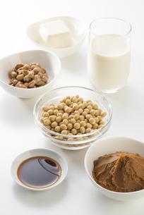 大豆の加工食品の写真素材 [FYI04857766]