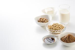 大豆の加工食品の写真素材 [FYI04857767]