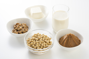 大豆の加工食品の写真素材 [FYI04857769]