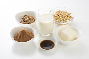 大豆の加工食品の写真素材 [FYI04857770]
