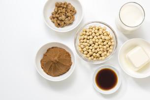 大豆の加工食品の写真素材 [FYI04857772]