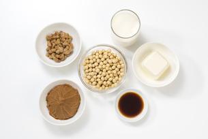 大豆の加工食品の写真素材 [FYI04857774]