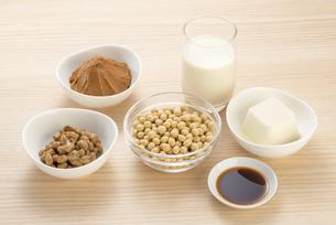 大豆の加工食品の写真素材 [FYI04857776]