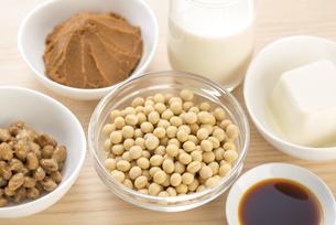 大豆の加工食品の写真素材 [FYI04857778]
