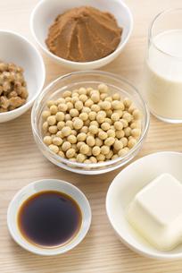 大豆の加工食品の写真素材 [FYI04857779]