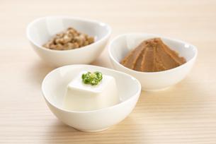 大豆の加工食品の写真素材 [FYI04857781]