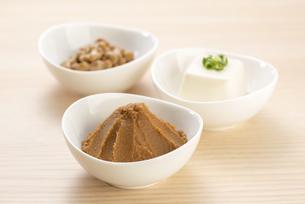 大豆の加工食品の写真素材 [FYI04857783]