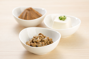 大豆の加工食品の写真素材 [FYI04857784]
