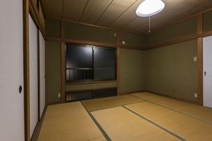 古い日本の住宅の写真素材 [FYI04857859]