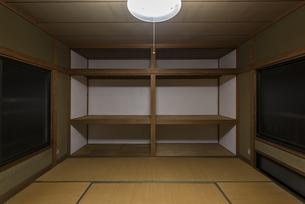 古い日本の住宅の写真素材 [FYI04857867]