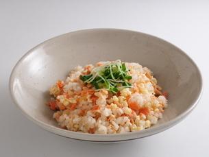 鮭の混ぜご飯の写真素材 [FYI04858593]