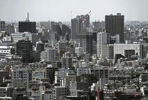 東京の住宅街の風景の写真素材 [FYI04859797]