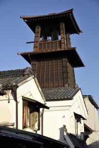 川越 時の鐘の写真素材 [FYI04860242]