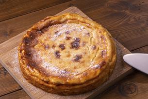 ヨーグルトチーズケーキの写真素材 [FYI04860480]