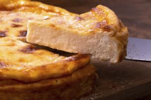ヨーグルトチーズケーキの写真素材 [FYI04860481]