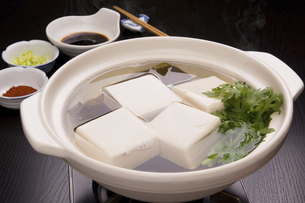 湯豆腐の写真素材 [FYI04860618]