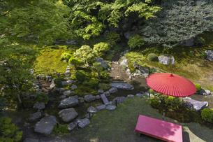 旧竹林院 庭園の写真素材 [FYI04861368]