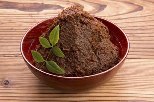 完熟米味噌の写真素材 [FYI04861981]