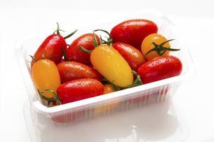 ミニトマト 品種はアイコの写真素材 [FYI04861993]