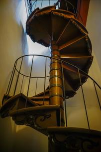 文翔館の螺旋階段の写真素材 [FYI04863221]