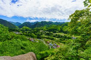 峯の浦弓張岩からの眺めの写真素材 [FYI04863240]