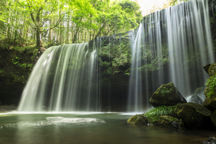 鍋ヶ滝の写真素材 [FYI04863344]