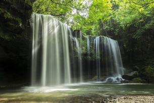 鍋ヶ滝の写真素材 [FYI04863347]
