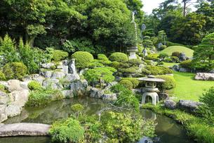 聖天院庭園(埼玉県日高市)の写真素材 [FYI04864177]