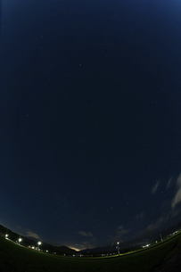 南向きの夏の星座の写真素材 [FYI04864310]