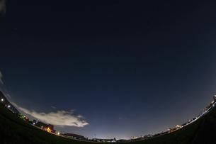 北向きの夏の星座の写真素材 [FYI04864311]