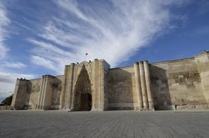 トルコ キャラバンサライ外観の写真素材 [FYI04864795]