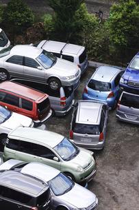 リサイクルされる自動車の写真素材 [FYI04865031]