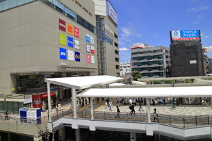 川越駅東口の写真素材 [FYI04865115]