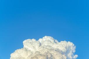 夕方の入道雲の写真素材 [FYI04865398]