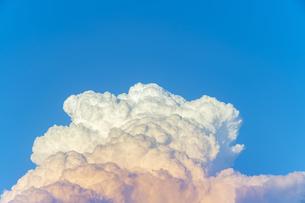 夕方の入道雲の写真素材 [FYI04865404]